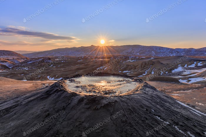Mud Volcanoes, Romania