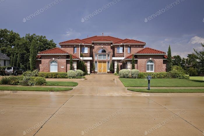 Дом в тосканском стиле