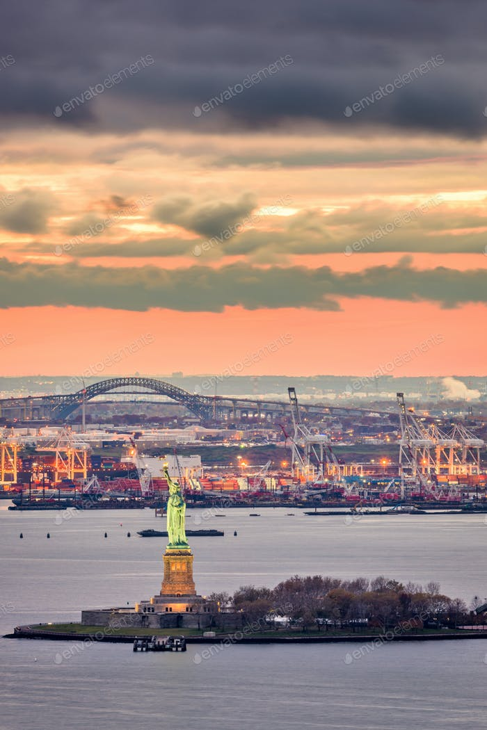 Statue of Liberty in New York