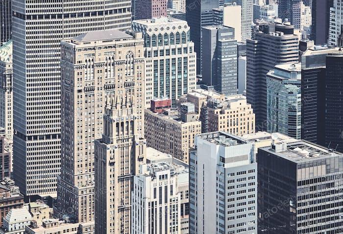 Arquitectura diversa de Nueva York