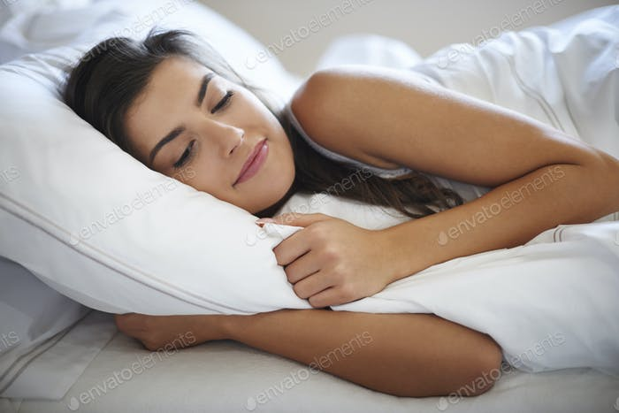 She's speeding lazy mornings in bed