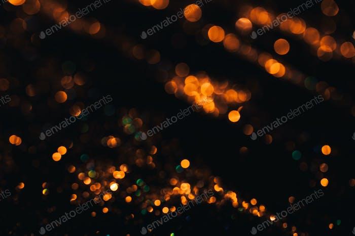 Golden glittering star Background