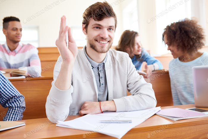Exited student having question