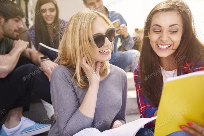 Lernen mit Freunden ist einfacher