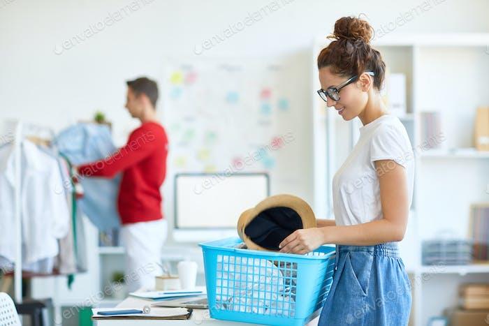 Preparing clothes