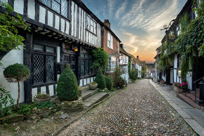 Beautiful Cobbled Street