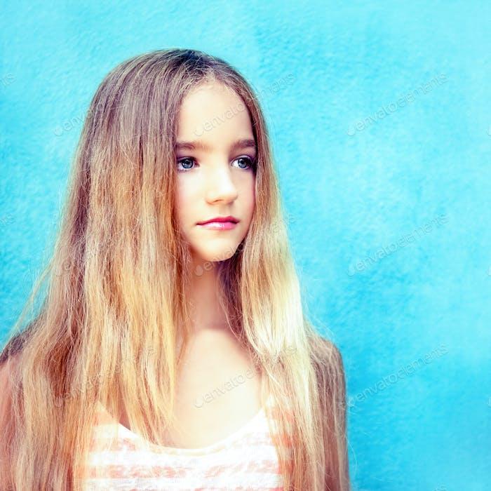 Porträt der niedlichen teen Mädchen