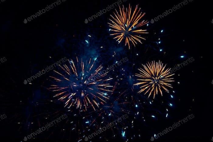 Osterfeier Feuerwerk, Korfu - Griechenland