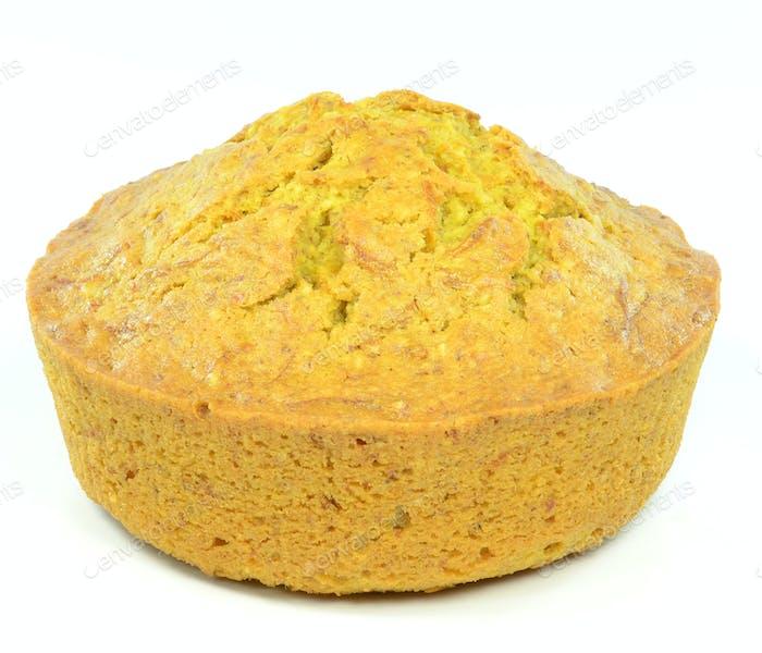 A Round Sponge Cake