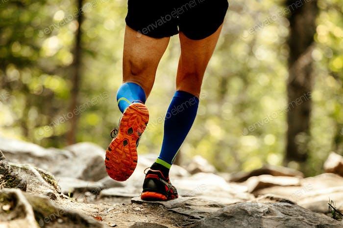 Sohle Laufschuhe Füße Mann