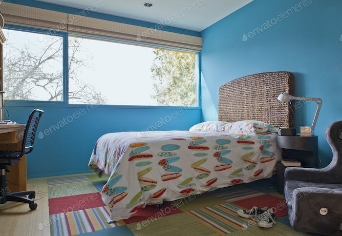 Surf Themed Bedroom