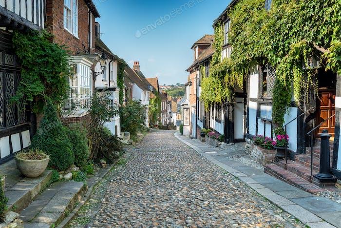 Cobblestone Streets in Rye