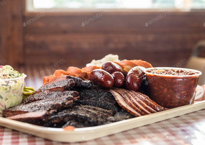 Tray of Barbecue