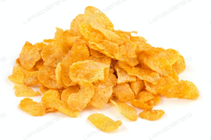 heap of corn flakes