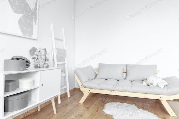Simple room for kid