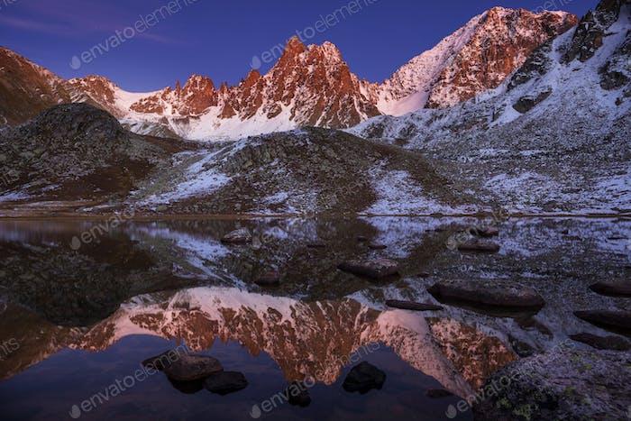 Montañas en Turquía