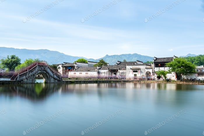 china ancient villages landscape