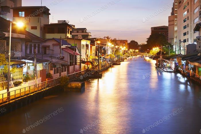 Canal in Bangkok