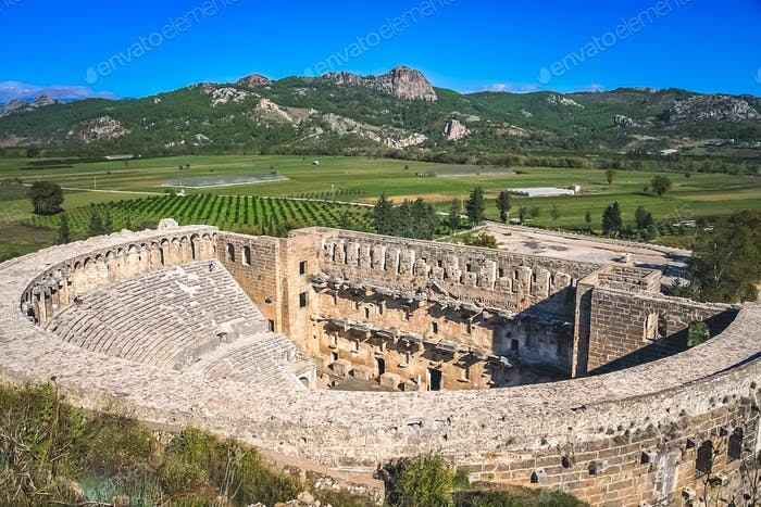 Ruinen von Aspendos Theater