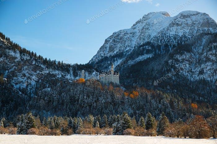 Neuschwanstein Castle winter