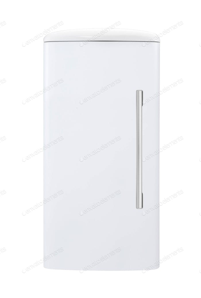 fridge freezer isolated on white