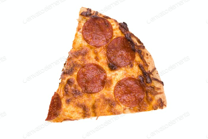 Scheibe Pepperoni-Pizza