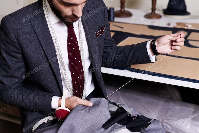 Sewing Classical Male Jacket