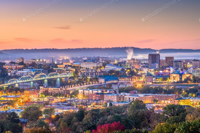 Memphis, Tennessee, USA Skyline