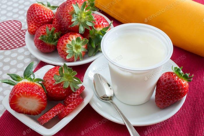 Thumbnail for yogurt with strawberries