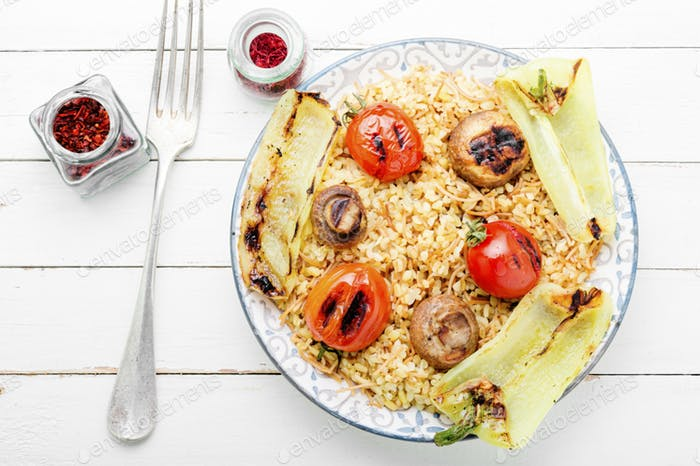 Turkish rice with vermicelli