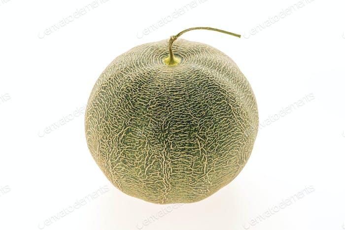 Green melon fruit