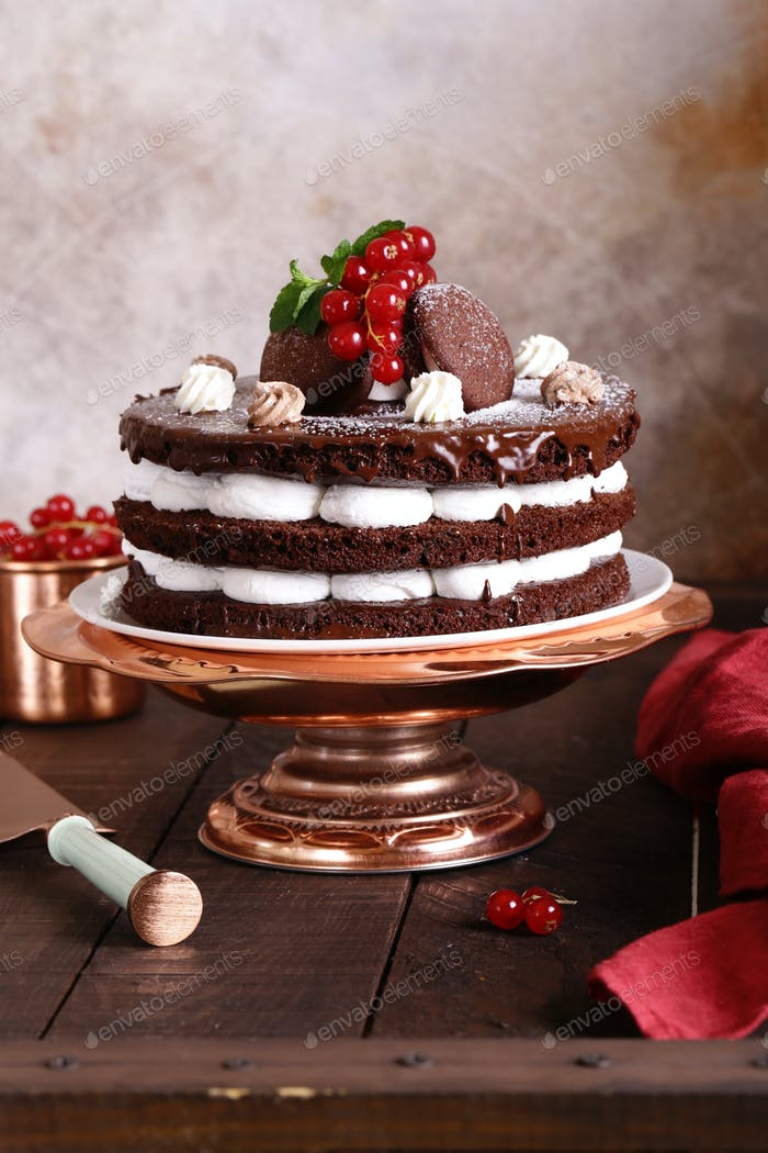 Chocolate Whoopee Pie Cake