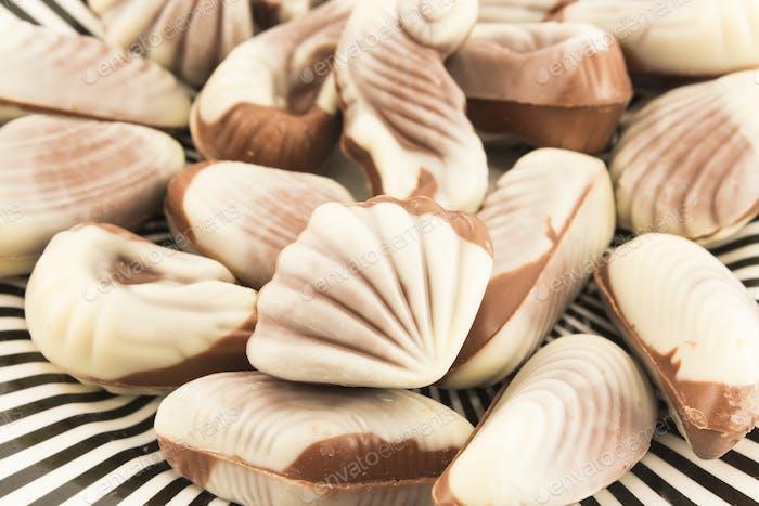 Belgian Seafood Pralines, Closeup