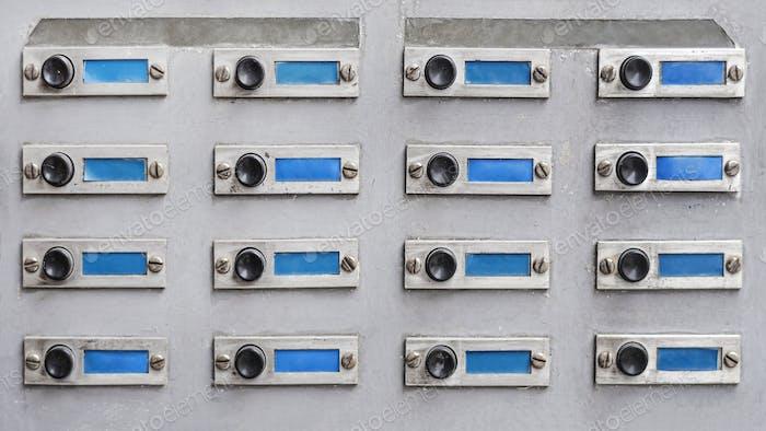 old door bell buttons