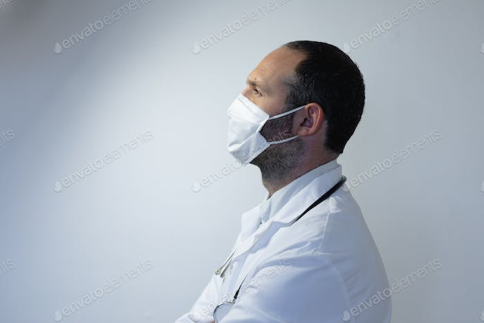 Healthcare worker during coronavirus covid19 pandemic
