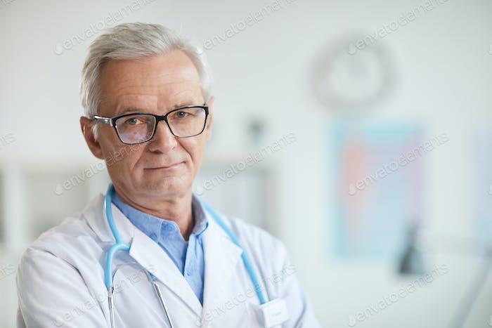 Experienced senior doctor