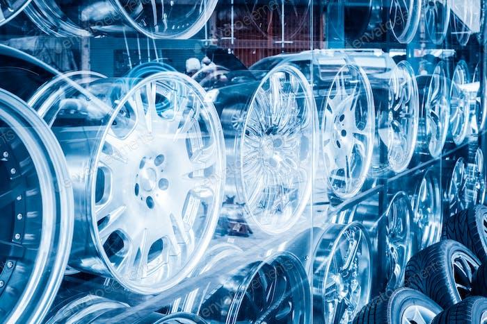 Auto Leichtmetallfelge