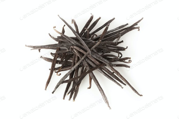 Fresh Brown Organic Vanilla Bean