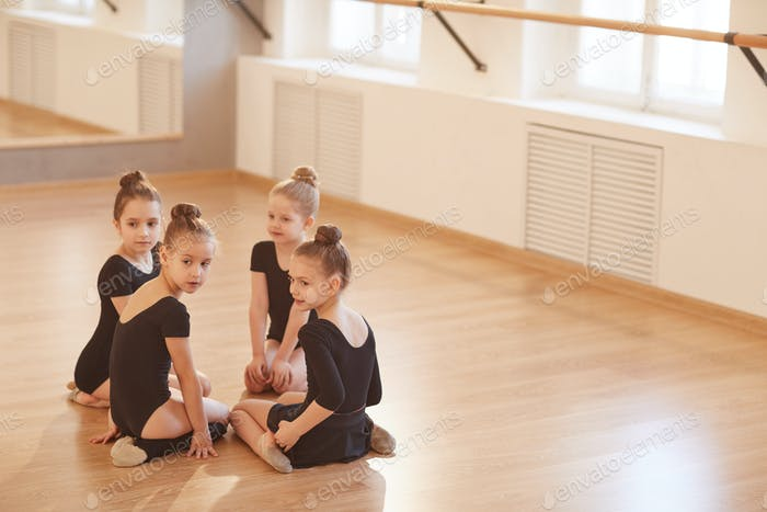 Girls in Dance Studio