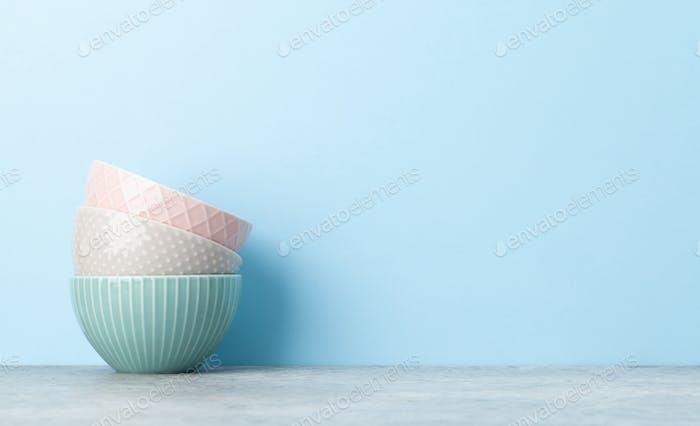 Kitchen bowl dishes