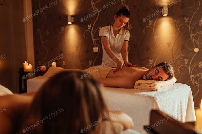 Blissful honeymoon pampering