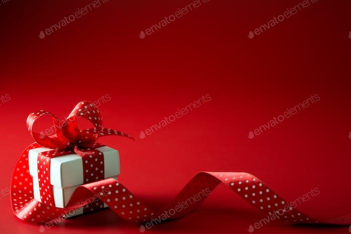 Valentinstags-Geschenkbox