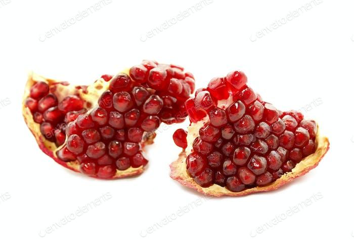 schmackhafte Granatapfelfrucht