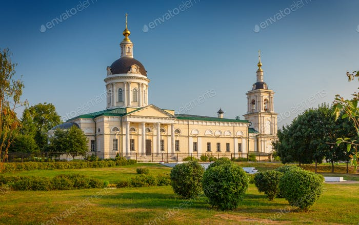 Archangel Michael Church, built XVIII century, Kolomna, Russia