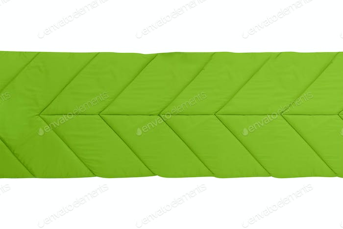 camp sleeping bag isolated on white