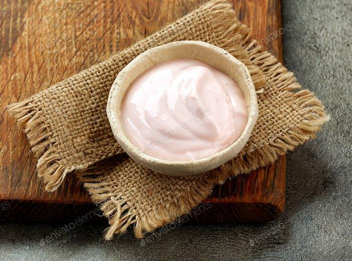 tazón de yogur