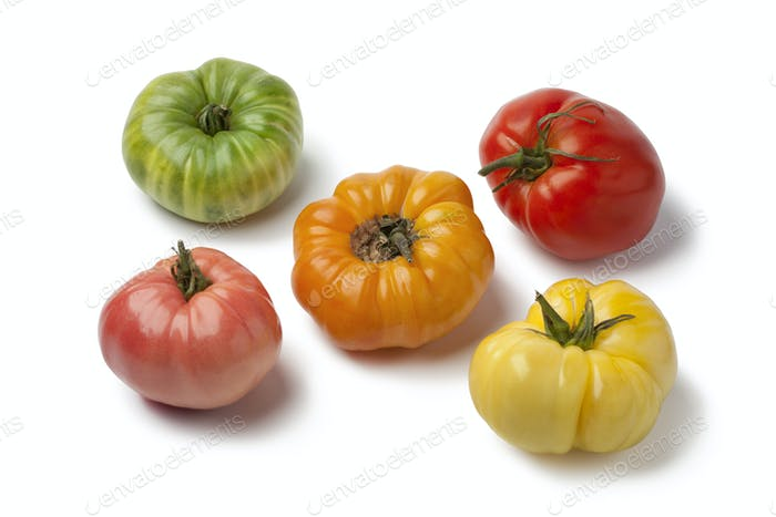 Diversity of beefheart tomatoes