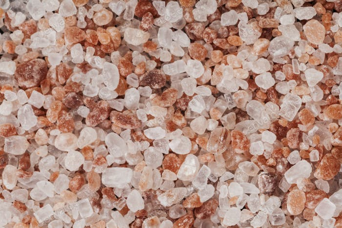 Salt Macro Close-up