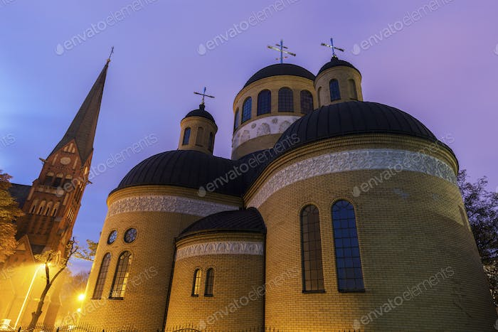 Orthodox and Evangelical Churches in Czestochowa