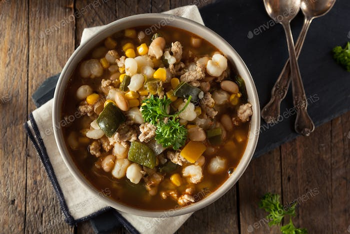 Hot Homemade White Bean Chicken Chili